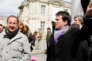 Grand meeting de François Hollande a vincennes