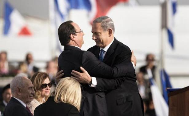 Fran ois hollande se dit pr t entonner un chant d for Chambre de commerce france israel