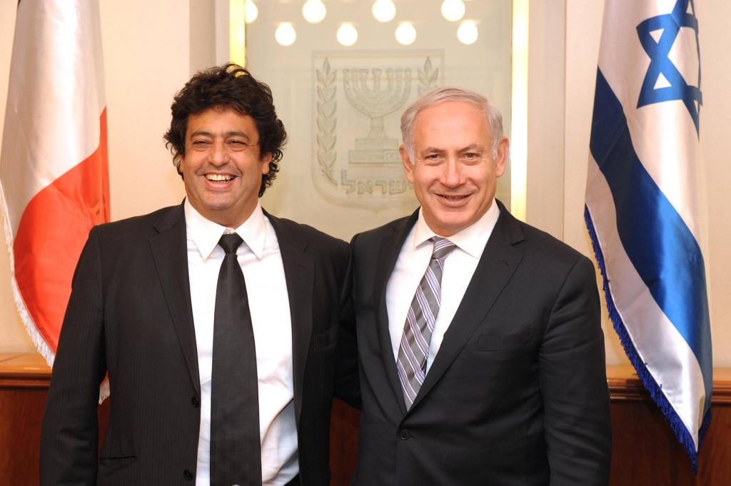 Pour Netanyahou, Meyer Habib est prêt à toucher le fond