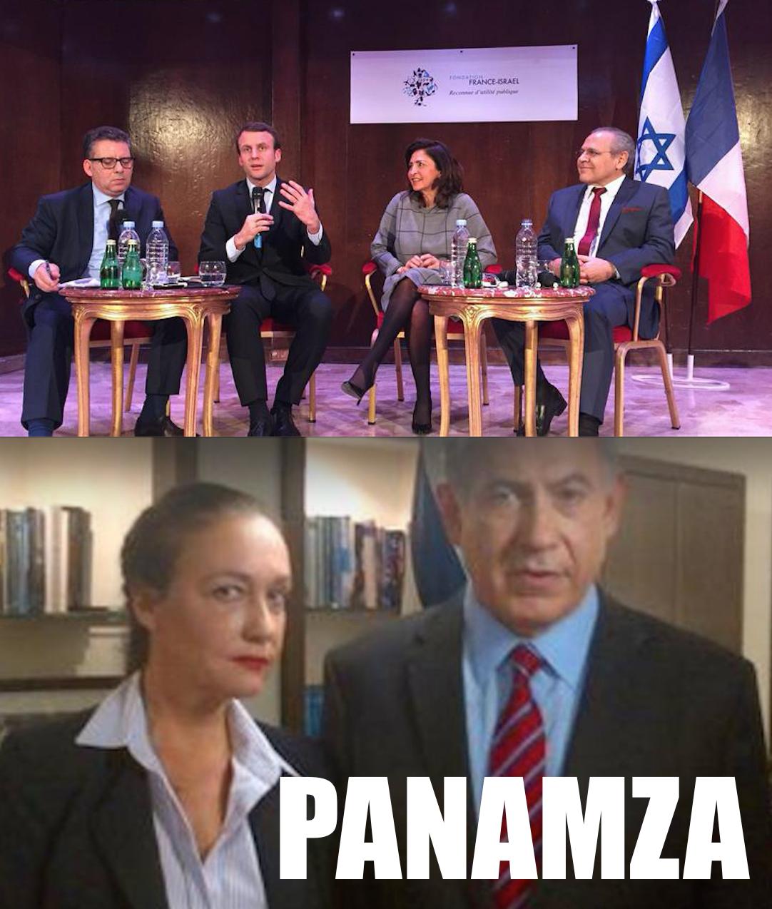 Elle cajole Netanyahou : Macron en fait sa porte-parole