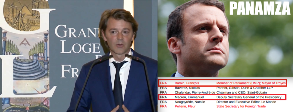 Macron et Baroin sont liés au groupe «terroriste» Bilderberg