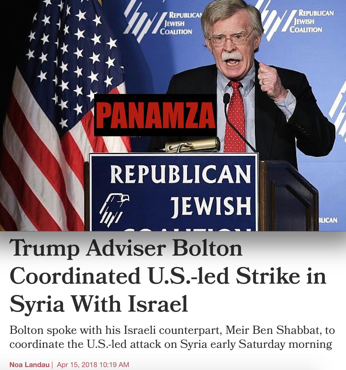 Syrie : le conseiller de Trump avait menacé les enfants d'un expert des armes chimiques
