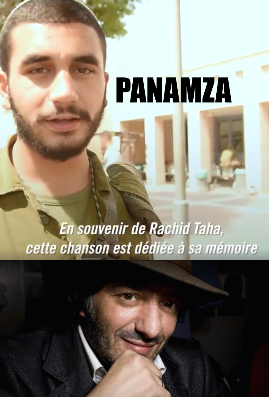 L'armée israélienne célèbre Rachid Taha