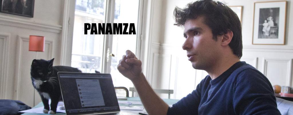 Juan Branco : «Je pique la clientèle de Panamza»