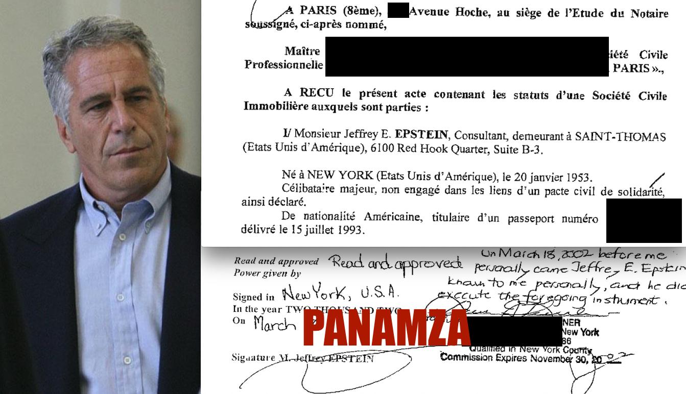 2 jours avant son arrestation, Epstein cédait sa boîte française