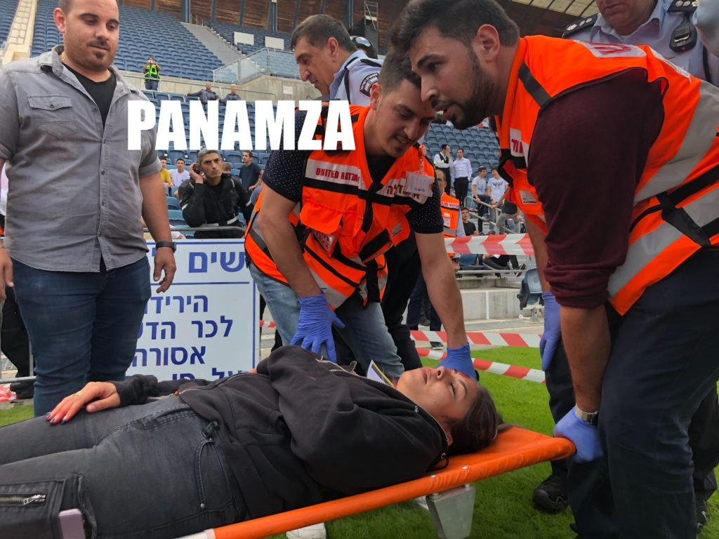 Attentat contre un stade : la simulation du Mossad
