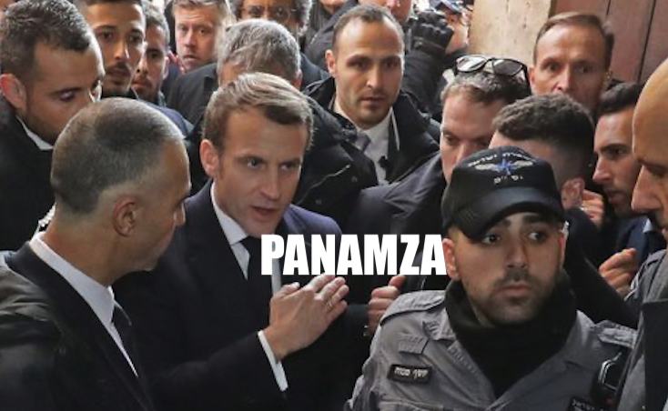 Sincère ou comédien ? Macron s'énerve à Jérusalem